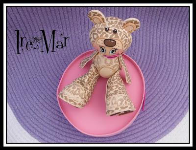 fofucha bebe disfraz de leopardo