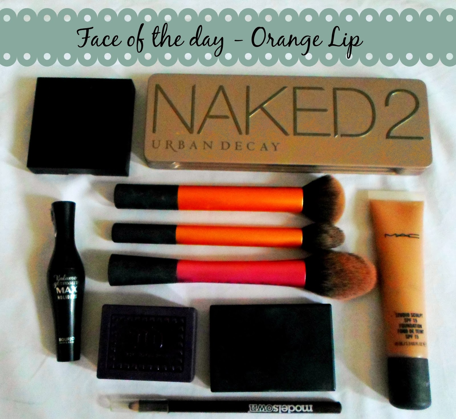 Face of the day - orange lip