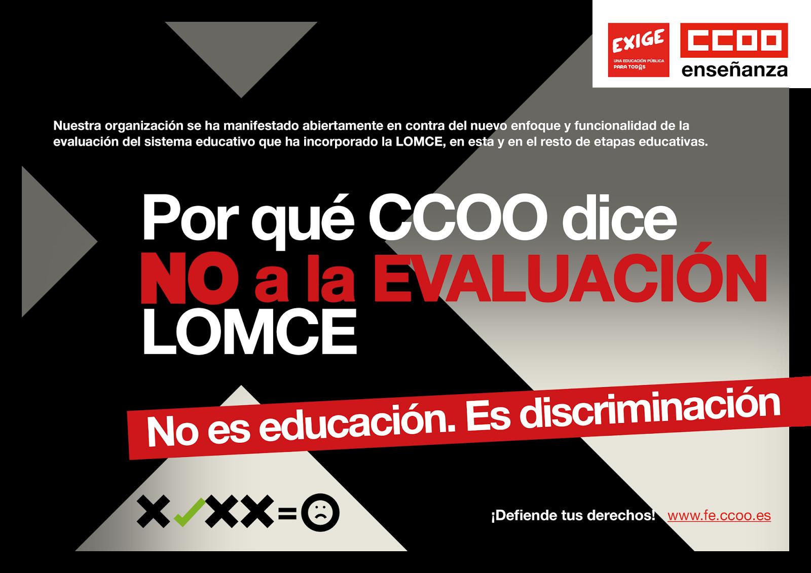 Ccoo justicia andaluc a recurso de ccoo contra la for Ccoo ensenanza melilla