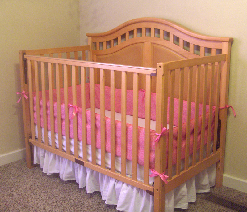 How To Put A Crib Bumper On Insured By Laura