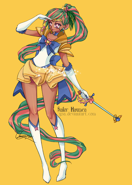 Sailor Haumea por Ysa