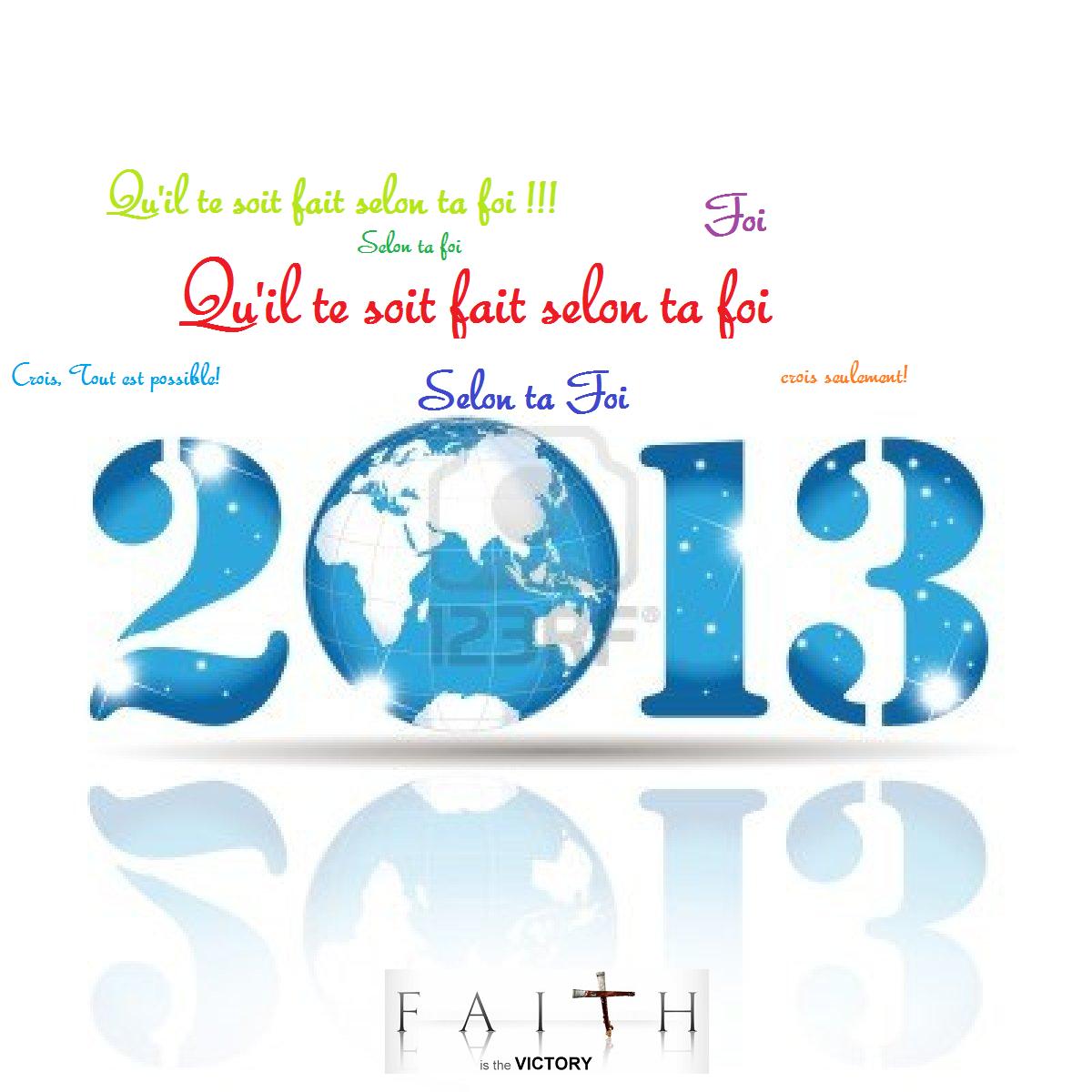 2013 Année de la Foi
