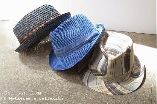 Soldes chapeaux homme Stetson