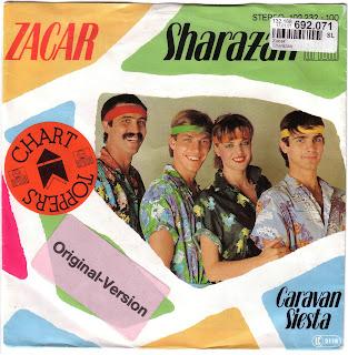 ZACAR - Sharazan,Vinyl 7\