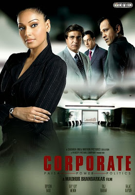 Poster Of Bollywood Movie Corporate (2006) 375MB Compressed Small Size Pc Movie Free Download worldfree4u.com
