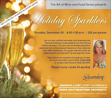 "Please join us for our Third Annual ""Holiday Sparklers"" Wine & Food Tasting!"