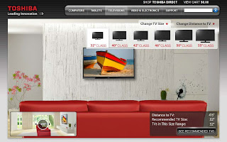 memilih ukuran layar tv di rumah