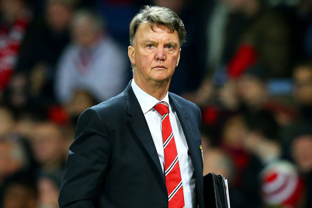 THE BOSS: Van Gaal slammed Liverpool