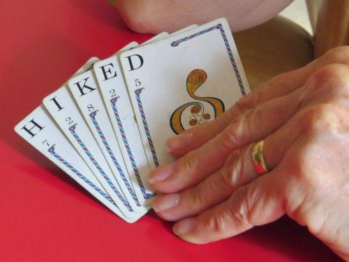 Quiddler hand