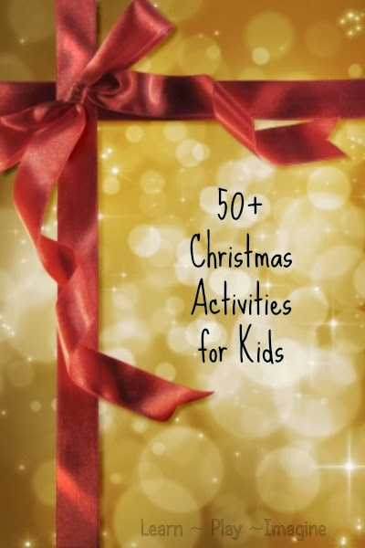 Over 50 incredible ideas for making the Christmas season more magical!  Sensory play, arts and crafts, teaching giving and much more!