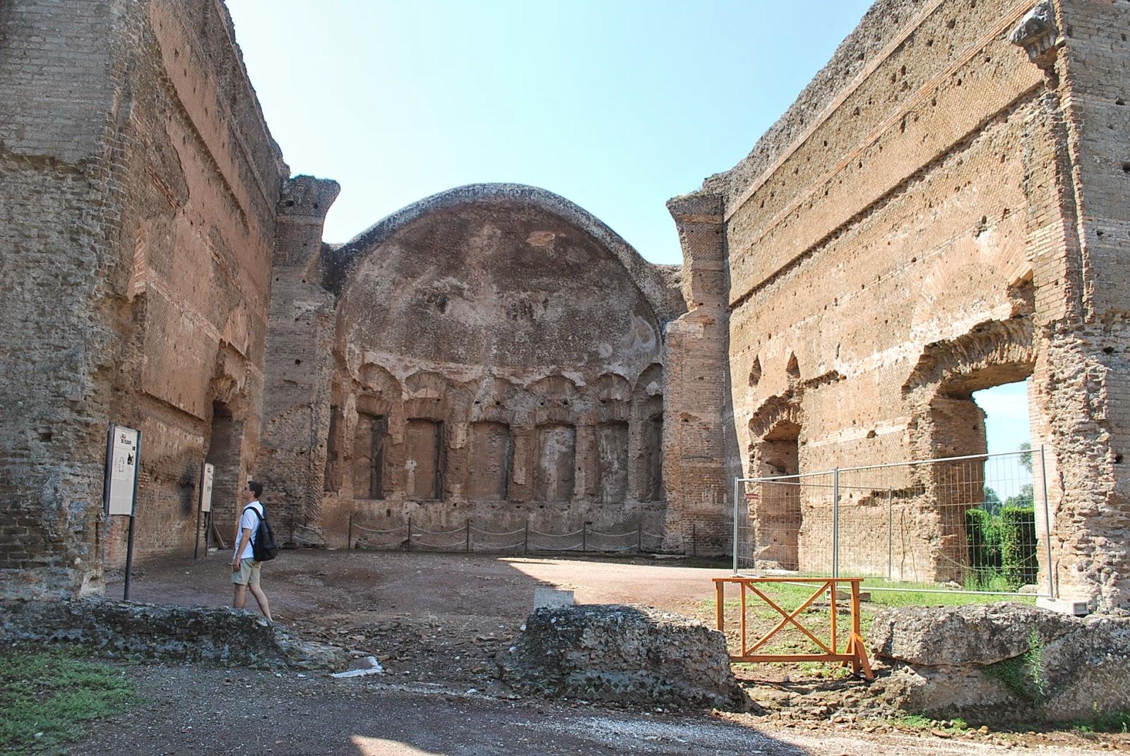 Villa Hadriana, salle des philosophes