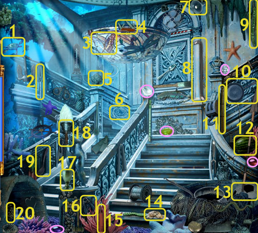 Hidden Expedition: Titanic - Grand Staircase
