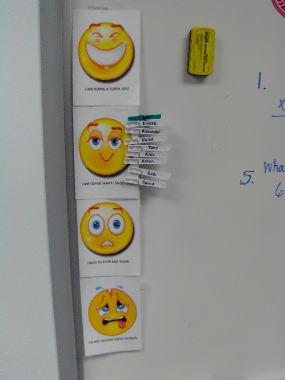 ... Behavior Chart Smiley Face : Search Results : New Calendar Template