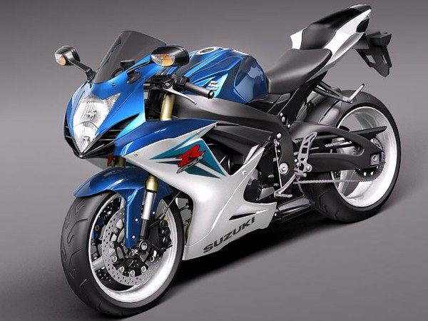 Motorcycle  The Champions 2013 Suzuki GSX R600