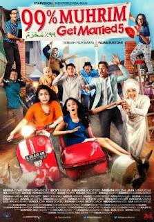 Film 99% Muhrim - Get Married 5 2015