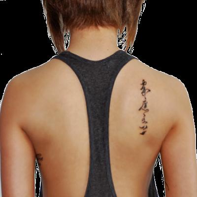 Japanese Kanji Tattoos