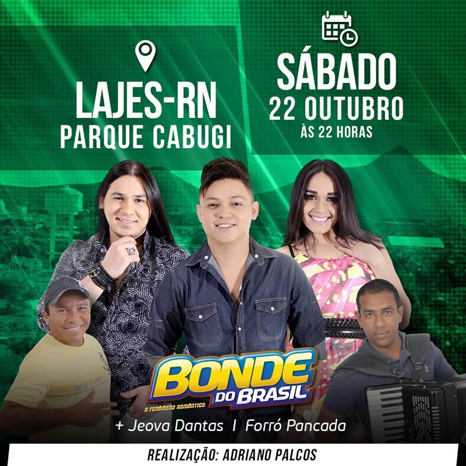 BONDE DO BRASIL PARQUE CABUGI LAJES RN
