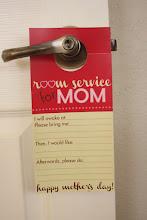 Room Service Printable