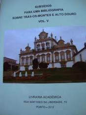 Bibliografia sobre Trás-os-Montes e Alto Douro, Vol. V (Nuno Canavez)
