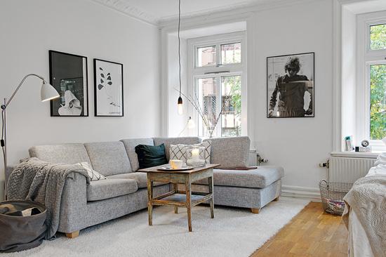 ini desain interior ruang tamu minimalis rumah tipe 36 terbaru