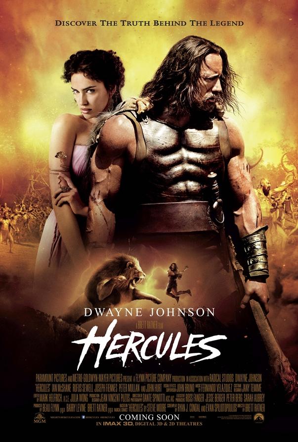 Póster Hércules, de Brett Ratner