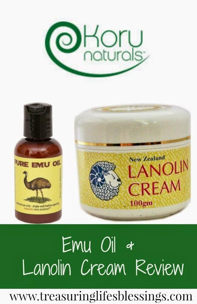 Koru Naturals Emu Oil & Lanolin Cream