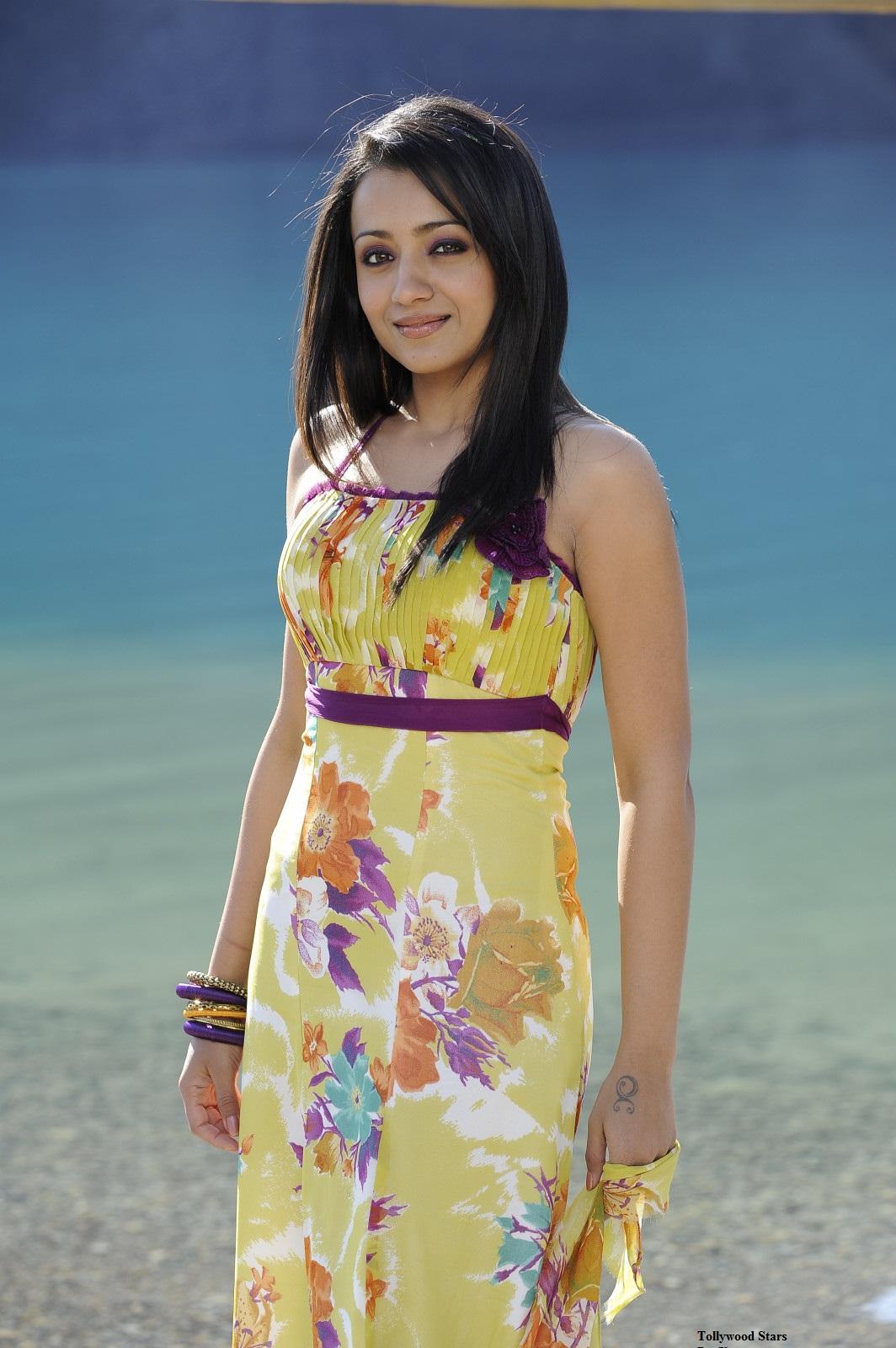 Trisha Krishnan - Stránka 3 Trisha+Hot+Saree+Stills+From+Body+Guard+Movie+10