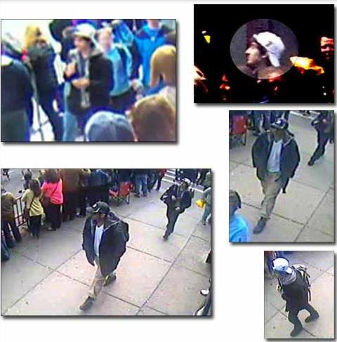 FBI SUSPECTS  Boston Bombings