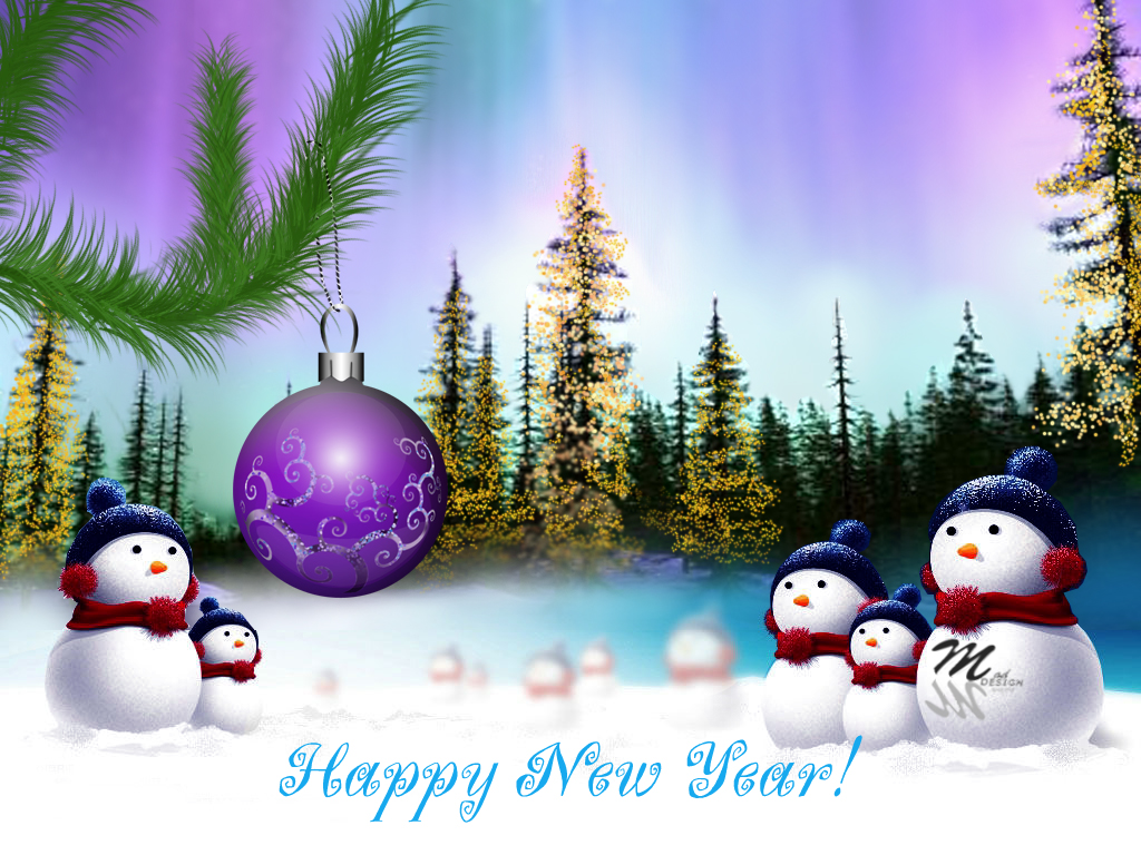 happy new year 2012 greetings