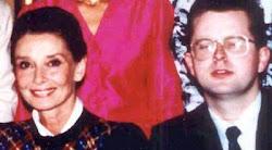 Audrey Hepburn and me in 1988