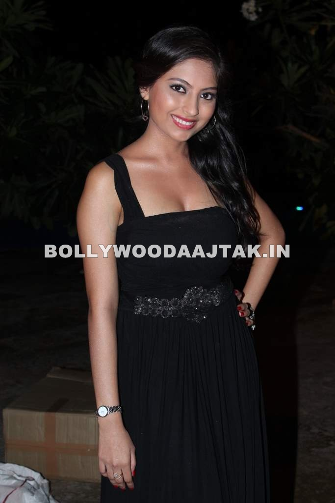 Rani Agrawal in black dress - Rani Agrawal Aka Tia from Love Recipe music launch Pics