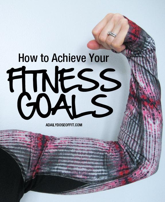 Make SMART goals to ensure fitness success.