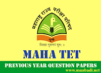 MAHA TET previous year question papers