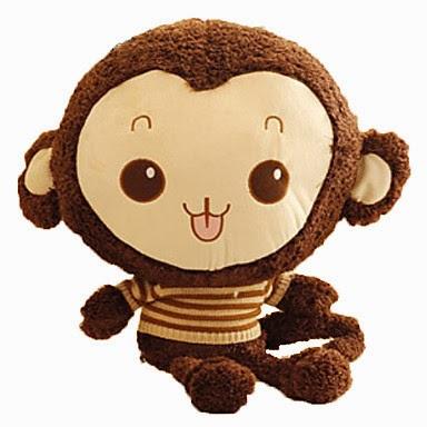 Mono de Peluche con Jersey