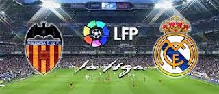 قنوات ناقلة مباراة ريال مدريد وفالنسيا الدوري الاسباني مفتوحة مجانا real madrid vs valencia