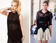 De estos 2 looks Anna Dello Russo con su little black dress