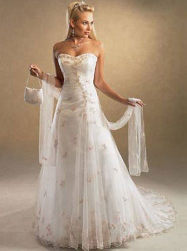 Simple Elegant Wedding DressIf it seems like most of the hot wedding gown