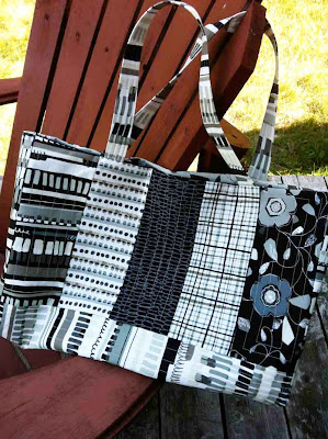 Urbanicity tote bag from Flare Fabrics