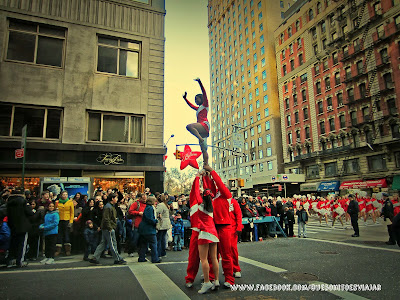Desfile del Día de Acción de Gracias en Manhattan