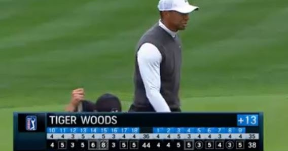 video  tiger woods second round highlights and lowlights