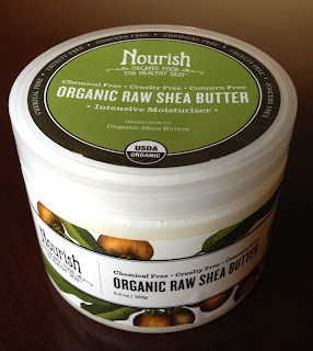 Nourish Organic, Raw Shea Butter