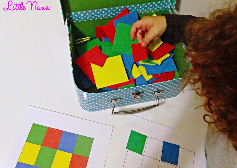 Recurso educativo juego diy logica matematica
