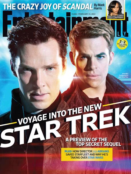 EW STAR TREK INTO DARKNESS COVER FEBRUARY