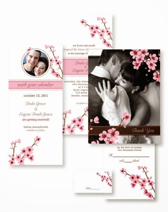 Cherry Blossom Wedding Invitations | Wedding Stuff Ideas