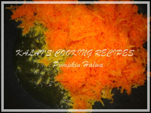 Yellow Pumpkin / Parangikai / Manjal Poosanikai Halwa