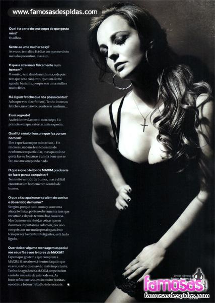 Bárbara Norton de Matos na Maxim