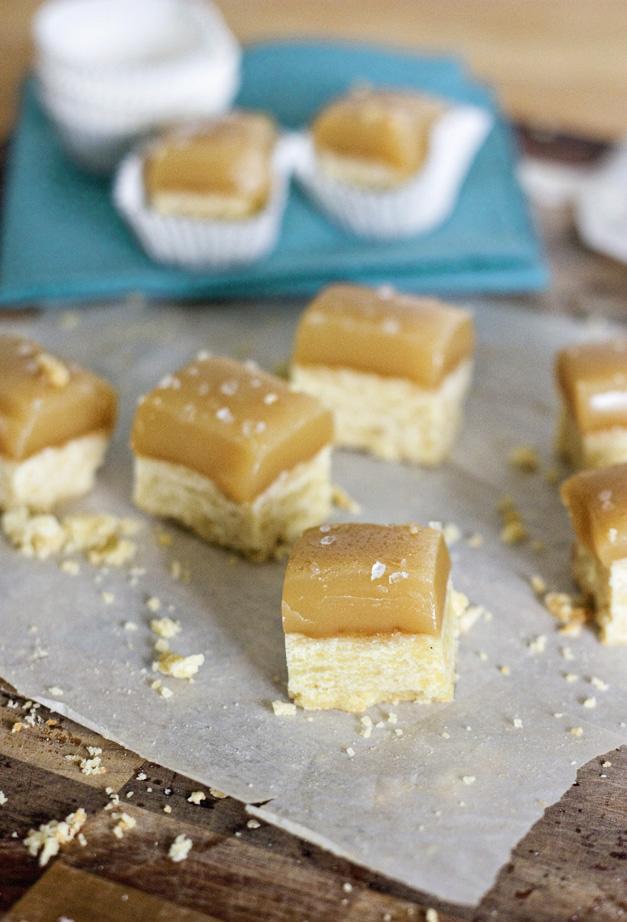 Erica's Sweet Tooth » Salted Caramel Shortbread + FBF Orlando