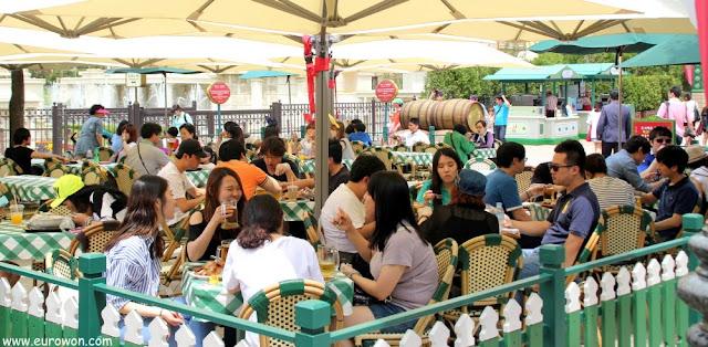 Zona de restaurantes de Everland