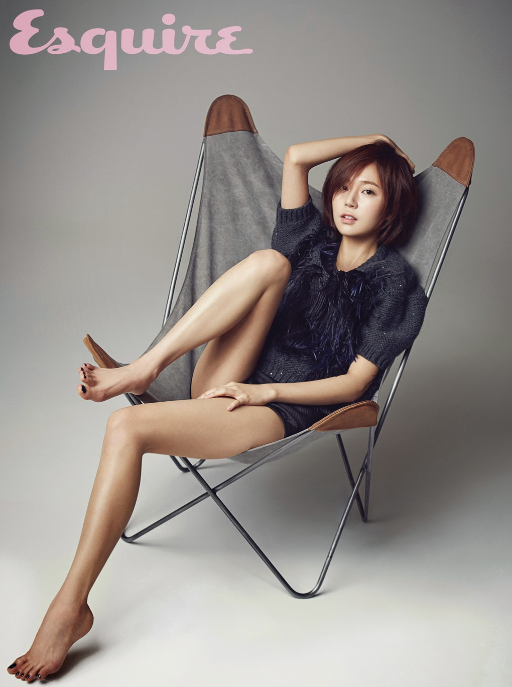 Baek Jin Hee - Esquire Magazine December Issue 2014