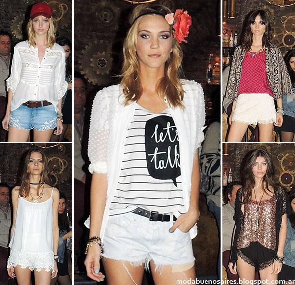 Moda 2015. Inédita primavera verano 2015. Shorts de moda 2015.